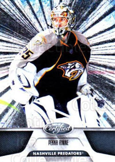 2011-12 Certified Totally Silver #14 Pekka Rinne<br/>3 In Stock - $2.00 each - <a href=https://centericecollectibles.foxycart.com/cart?name=2011-12%20Certified%20Totally%20Silver%20%2314%20Pekka%20Rinne...&quantity_max=3&price=$2.00&code=511841 class=foxycart> Buy it now! </a>