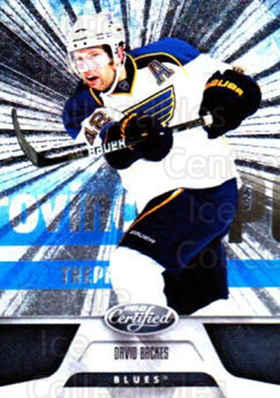 2011-12 Certified Totally Silver #19 David Backes<br/>4 In Stock - $2.00 each - <a href=https://centericecollectibles.foxycart.com/cart?name=2011-12%20Certified%20Totally%20Silver%20%2319%20David%20Backes...&quantity_max=4&price=$2.00&code=511846 class=foxycart> Buy it now! </a>