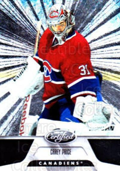2011-12 Certified Totally Silver #109 Carey Price<br/>1 In Stock - $5.00 each - <a href=https://centericecollectibles.foxycart.com/cart?name=2011-12%20Certified%20Totally%20Silver%20%23109%20Carey%20Price...&quantity_max=1&price=$5.00&code=511936 class=foxycart> Buy it now! </a>