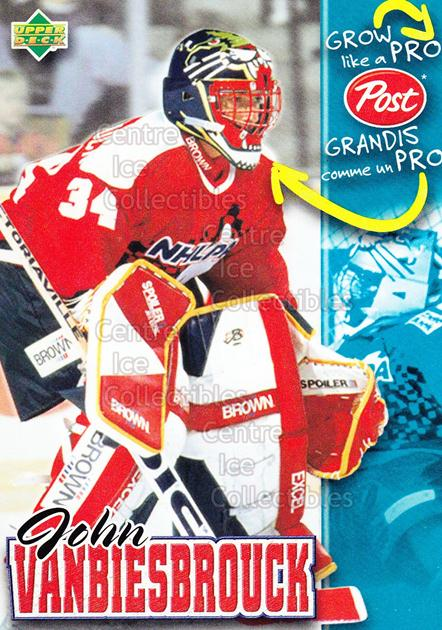 1996-97 Post Cereal Grow Like A Pro #23 John Vanbiesbrouck<br/>3 In Stock - $3.00 each - <a href=https://centericecollectibles.foxycart.com/cart?name=1996-97%20Post%20Cereal%20Grow%20Like%20A%20Pro%20%2323%20John%20Vanbiesbro...&quantity_max=3&price=$3.00&code=51208 class=foxycart> Buy it now! </a>