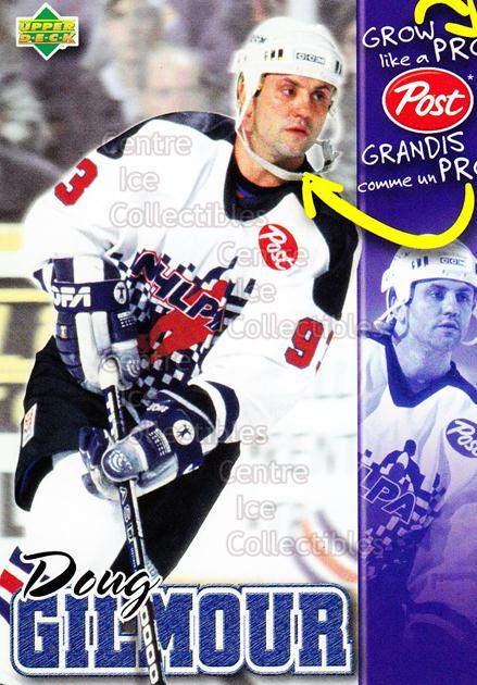 1996-97 Post Cereal Grow Like A Pro #7 Doug Gilmour<br/>6 In Stock - $3.00 each - <a href=https://centericecollectibles.foxycart.com/cart?name=1996-97%20Post%20Cereal%20Grow%20Like%20A%20Pro%20%237%20Doug%20Gilmour...&quantity_max=6&price=$3.00&code=51214 class=foxycart> Buy it now! </a>
