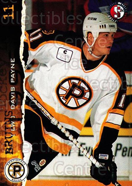 1996-97 Providence Bruins #5 Davis Payne<br/>6 In Stock - $3.00 each - <a href=https://centericecollectibles.foxycart.com/cart?name=1996-97%20Providence%20Bruins%20%235%20Davis%20Payne...&price=$3.00&code=51217 class=foxycart> Buy it now! </a>