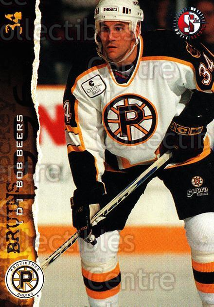 1996-97 Providence Bruins #12 Bob Beers<br/>9 In Stock - $3.00 each - <a href=https://centericecollectibles.foxycart.com/cart?name=1996-97%20Providence%20Bruins%20%2312%20Bob%20Beers...&price=$3.00&code=51225 class=foxycart> Buy it now! </a>