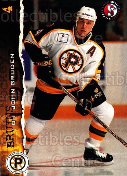 1996-97 Providence Bruins #2 John Gruden<br/>6 In Stock - $3.00 each - <a href=https://centericecollectibles.foxycart.com/cart?name=1996-97%20Providence%20Bruins%20%232%20John%20Gruden...&price=$3.00&code=51226 class=foxycart> Buy it now! </a>