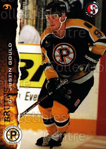 1996-97 Providence Bruins #3 Justin Gould<br/>6 In Stock - $3.00 each - <a href=https://centericecollectibles.foxycart.com/cart?name=1996-97%20Providence%20Bruins%20%233%20Justin%20Gould...&price=$3.00&code=51227 class=foxycart> Buy it now! </a>