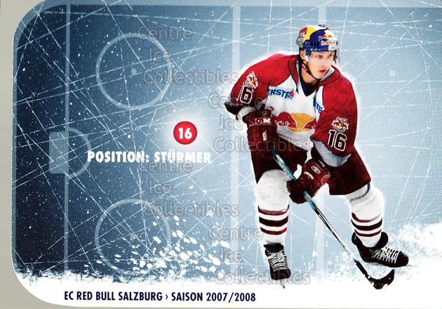 2007-08 Austrian EC Red Bull Salzburg #7 Patrick Harand<br/>1 In Stock - $3.00 each - <a href=https://centericecollectibles.foxycart.com/cart?name=2007-08%20Austrian%20EC%20Red%20Bull%20Salzburg%20%237%20Patrick%20Harand...&quantity_max=1&price=$3.00&code=512382 class=foxycart> Buy it now! </a>