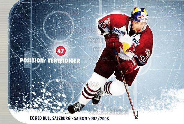 2007-08 Austrian EC Red Bull Salzburg #21 Martin Ulrich<br/>1 In Stock - $3.00 each - <a href=https://centericecollectibles.foxycart.com/cart?name=2007-08%20Austrian%20EC%20Red%20Bull%20Salzburg%20%2321%20Martin%20Ulrich...&quantity_max=1&price=$3.00&code=512396 class=foxycart> Buy it now! </a>