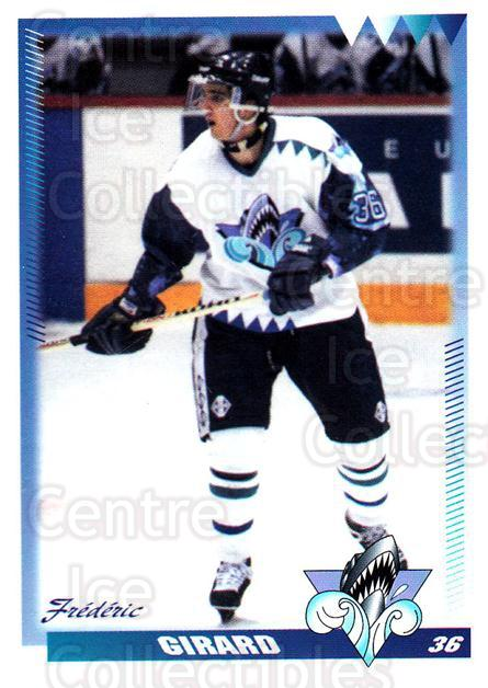1996-97 Rimouski Oceanic #11 Frederic Girard<br/>3 In Stock - $3.00 each - <a href=https://centericecollectibles.foxycart.com/cart?name=1996-97%20Rimouski%20Oceanic%20%2311%20Frederic%20Girard...&quantity_max=3&price=$3.00&code=51263 class=foxycart> Buy it now! </a>
