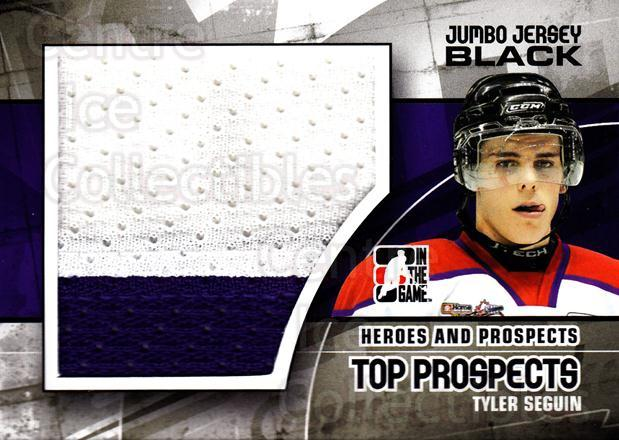 2010-11 ITG Heroes and Prospects Top Prospects Jersey Black #25 Tyler Seguin<br/>1 In Stock - $10.00 each - <a href=https://centericecollectibles.foxycart.com/cart?name=2010-11%20ITG%20Heroes%20and%20Prospects%20Top%20Prospects%20Jersey%20Black%20%2325%20Tyler%20Seguin...&quantity_max=1&price=$10.00&code=512654 class=foxycart> Buy it now! </a>