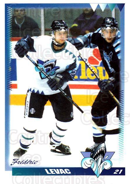 1996-97 Rimouski Oceanic #15 Frederic Levac<br/>4 In Stock - $3.00 each - <a href=https://centericecollectibles.foxycart.com/cart?name=1996-97%20Rimouski%20Oceanic%20%2315%20Frederic%20Levac...&quantity_max=4&price=$3.00&code=51267 class=foxycart> Buy it now! </a>