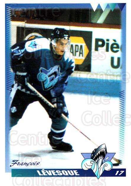 1996-97 Rimouski Oceanic #16 Francois Levesque<br/>4 In Stock - $3.00 each - <a href=https://centericecollectibles.foxycart.com/cart?name=1996-97%20Rimouski%20Oceanic%20%2316%20Francois%20Levesq...&quantity_max=4&price=$3.00&code=51268 class=foxycart> Buy it now! </a>