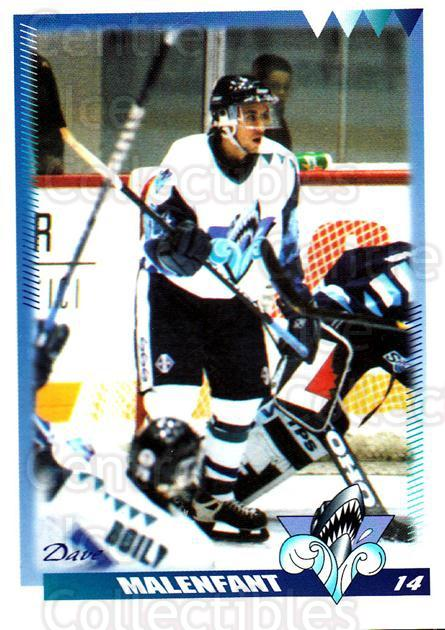 1996-97 Rimouski Oceanic #18 Dave Malenfant<br/>4 In Stock - $3.00 each - <a href=https://centericecollectibles.foxycart.com/cart?name=1996-97%20Rimouski%20Oceanic%20%2318%20Dave%20Malenfant...&quantity_max=4&price=$3.00&code=51270 class=foxycart> Buy it now! </a>