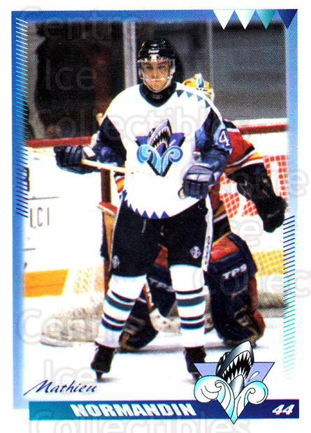 1996-97 Rimouski Oceanic #20 Mathieu Normandin<br/>4 In Stock - $3.00 each - <a href=https://centericecollectibles.foxycart.com/cart?name=1996-97%20Rimouski%20Oceanic%20%2320%20Mathieu%20Normand...&quantity_max=4&price=$3.00&code=51273 class=foxycart> Buy it now! </a>