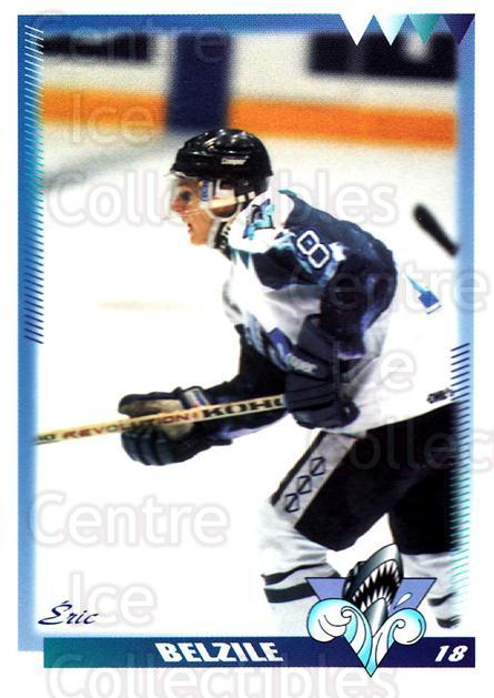 1996-97 Rimouski Oceanic #3 Eric Belzile<br/>4 In Stock - $3.00 each - <a href=https://centericecollectibles.foxycart.com/cart?name=1996-97%20Rimouski%20Oceanic%20%233%20Eric%20Belzile...&quantity_max=4&price=$3.00&code=51281 class=foxycart> Buy it now! </a>