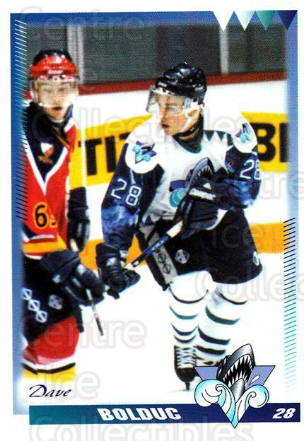 1996-97 Rimouski Oceanic #5 Dave Bolduc<br/>4 In Stock - $3.00 each - <a href=https://centericecollectibles.foxycart.com/cart?name=1996-97%20Rimouski%20Oceanic%20%235%20Dave%20Bolduc...&quantity_max=4&price=$3.00&code=51283 class=foxycart> Buy it now! </a>