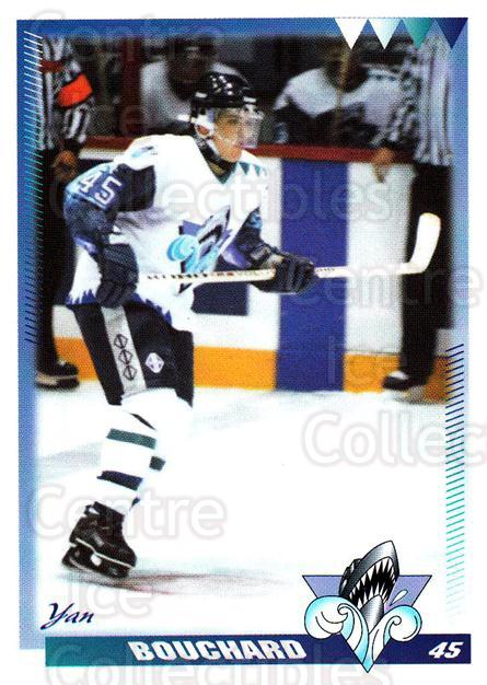 1996-97 Rimouski Oceanic #6 Yan Bouchard<br/>3 In Stock - $3.00 each - <a href=https://centericecollectibles.foxycart.com/cart?name=1996-97%20Rimouski%20Oceanic%20%236%20Yan%20Bouchard...&quantity_max=3&price=$3.00&code=51284 class=foxycart> Buy it now! </a>