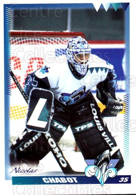 1996-97 Rimouski Oceanic #7 Nicolas Chabot<br/>4 In Stock - $3.00 each - <a href=https://centericecollectibles.foxycart.com/cart?name=1996-97%20Rimouski%20Oceanic%20%237%20Nicolas%20Chabot...&quantity_max=4&price=$3.00&code=51285 class=foxycart> Buy it now! </a>