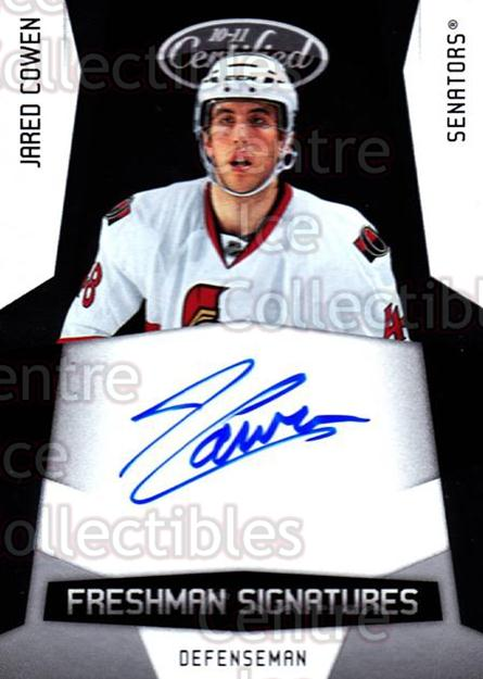 2010-11 Certified #184 Jared Cowen<br/>1 In Stock - $5.00 each - <a href=https://centericecollectibles.foxycart.com/cart?name=2010-11%20Certified%20%23184%20Jared%20Cowen...&quantity_max=1&price=$5.00&code=513055 class=foxycart> Buy it now! </a>