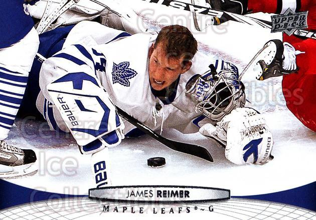 2011-12 Upper Deck #21 James Reimer<br/>18 In Stock - $1.00 each - <a href=https://centericecollectibles.foxycart.com/cart?name=2011-12%20Upper%20Deck%20%2321%20James%20Reimer...&price=$1.00&code=513822 class=foxycart> Buy it now! </a>
