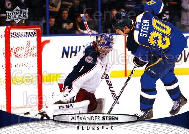 2011-12 Upper Deck #37 Alexander Steen<br/>12 In Stock - $1.00 each - <a href=https://centericecollectibles.foxycart.com/cart?name=2011-12%20Upper%20Deck%20%2337%20Alexander%20Steen...&quantity_max=12&price=$1.00&code=513838 class=foxycart> Buy it now! </a>
