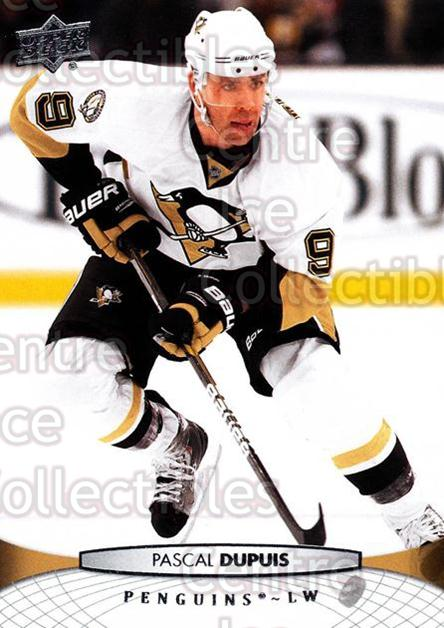 2011-12 Upper Deck #46 Pascal Dupuis<br/>10 In Stock - $1.00 each - <a href=https://centericecollectibles.foxycart.com/cart?name=2011-12%20Upper%20Deck%20%2346%20Pascal%20Dupuis...&quantity_max=10&price=$1.00&code=513847 class=foxycart> Buy it now! </a>