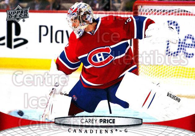 2011-12 Upper Deck #99 Carey Price<br/>19 In Stock - $1.00 each - <a href=https://centericecollectibles.foxycart.com/cart?name=2011-12%20Upper%20Deck%20%2399%20Carey%20Price...&price=$1.00&code=513900 class=foxycart> Buy it now! </a>