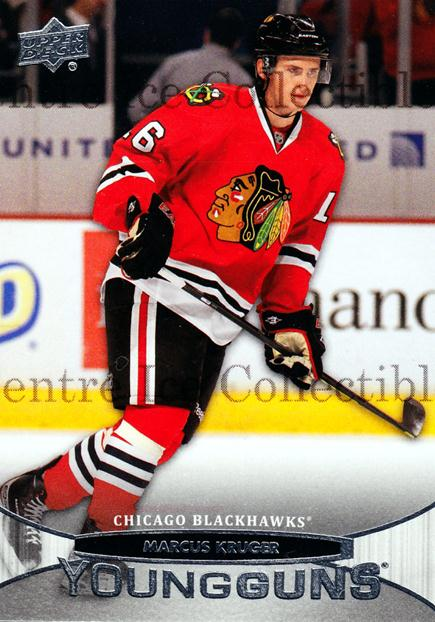 2011-12 Upper Deck #206 Marcus Kruger<br/>2 In Stock - $5.00 each - <a href=https://centericecollectibles.foxycart.com/cart?name=2011-12%20Upper%20Deck%20%23206%20Marcus%20Kruger...&quantity_max=2&price=$5.00&code=514007 class=foxycart> Buy it now! </a>