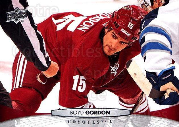 2011-12 Upper Deck #313 Boyd Gordon<br/>5 In Stock - $1.00 each - <a href=https://centericecollectibles.foxycart.com/cart?name=2011-12%20Upper%20Deck%20%23313%20Boyd%20Gordon...&price=$1.00&code=514114 class=foxycart> Buy it now! </a>