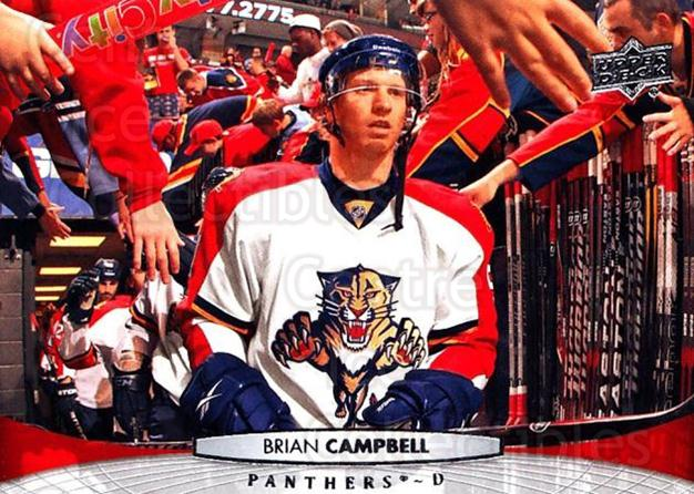 2011-12 Upper Deck #379 Brian Campbell<br/>9 In Stock - $1.00 each - <a href=https://centericecollectibles.foxycart.com/cart?name=2011-12%20Upper%20Deck%20%23379%20Brian%20Campbell...&quantity_max=9&price=$1.00&code=514180 class=foxycart> Buy it now! </a>