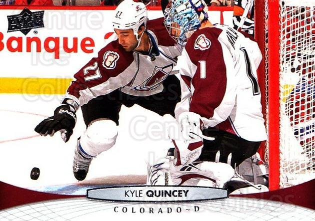 2011-12 Upper Deck #410 Kyle Quincey<br/>7 In Stock - $1.00 each - <a href=https://centericecollectibles.foxycart.com/cart?name=2011-12%20Upper%20Deck%20%23410%20Kyle%20Quincey...&quantity_max=7&price=$1.00&code=514211 class=foxycart> Buy it now! </a>