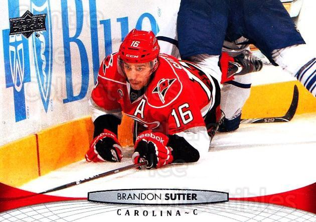 2011-12 Upper Deck #420 Brandon Sutter<br/>6 In Stock - $1.00 each - <a href=https://centericecollectibles.foxycart.com/cart?name=2011-12%20Upper%20Deck%20%23420%20Brandon%20Sutter...&price=$1.00&code=514221 class=foxycart> Buy it now! </a>