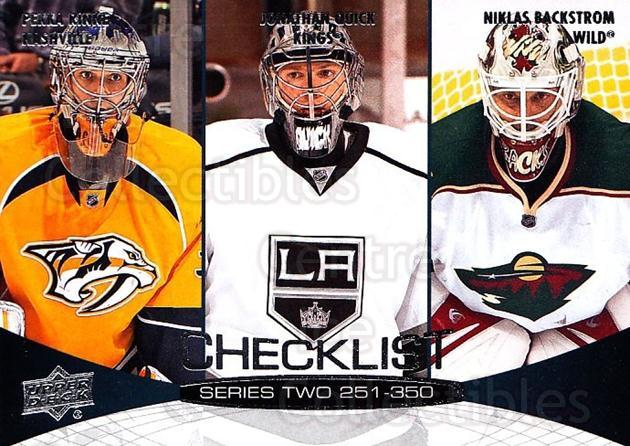 2011-12 Upper Deck #449 Pekka Rinne, Jonathan Quick, Niklas Backstrom<br/>8 In Stock - $1.00 each - <a href=https://centericecollectibles.foxycart.com/cart?name=2011-12%20Upper%20Deck%20%23449%20Pekka%20Rinne,%20Jo...&quantity_max=8&price=$1.00&code=514250 class=foxycart> Buy it now! </a>