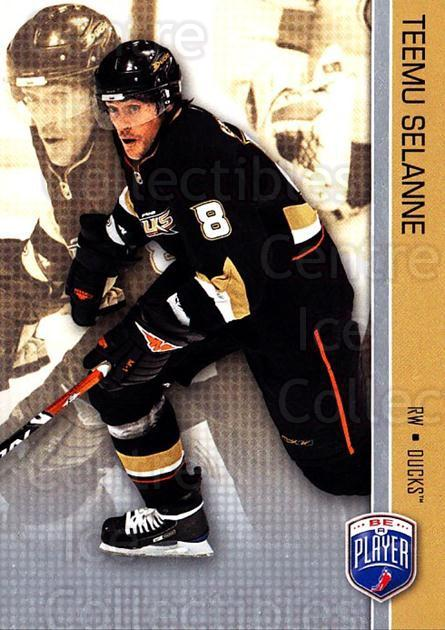 2008-09 Be A Player #4 Teemu Selanne<br/>3 In Stock - $3.00 each - <a href=https://centericecollectibles.foxycart.com/cart?name=2008-09%20Be%20A%20Player%20%234%20Teemu%20Selanne...&quantity_max=3&price=$3.00&code=514805 class=foxycart> Buy it now! </a>