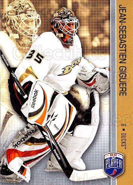 2008-09 Be A Player #7 Jean-Sebastien Giguere<br/>3 In Stock - $2.00 each - <a href=https://centericecollectibles.foxycart.com/cart?name=2008-09%20Be%20A%20Player%20%237%20Jean-Sebastien%20...&quantity_max=3&price=$2.00&code=514808 class=foxycart> Buy it now! </a>