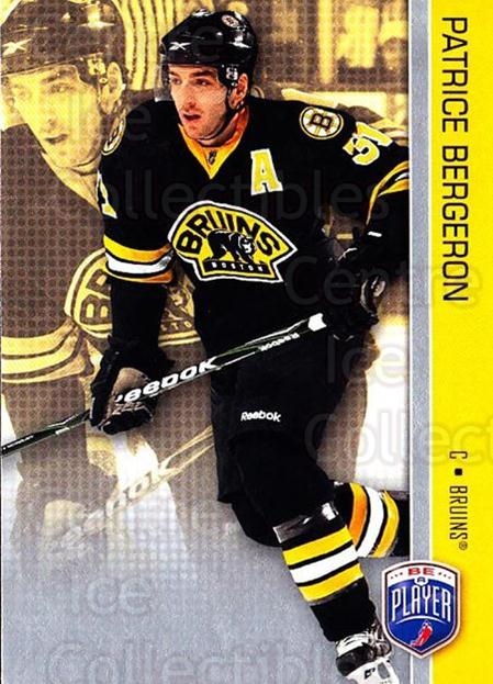 2008-09 Be A Player #13 Patrice Bergeron<br/>3 In Stock - $2.00 each - <a href=https://centericecollectibles.foxycart.com/cart?name=2008-09%20Be%20A%20Player%20%2313%20Patrice%20Bergero...&quantity_max=3&price=$2.00&code=514814 class=foxycart> Buy it now! </a>