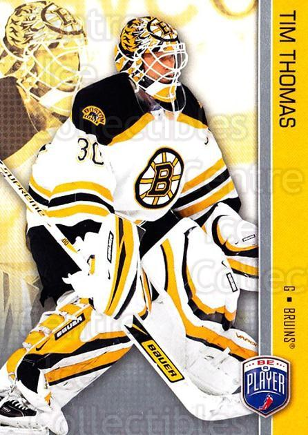 2008-09 Be A Player #18 Tim Thomas<br/>3 In Stock - $2.00 each - <a href=https://centericecollectibles.foxycart.com/cart?name=2008-09%20Be%20A%20Player%20%2318%20Tim%20Thomas...&quantity_max=3&price=$2.00&code=514819 class=foxycart> Buy it now! </a>