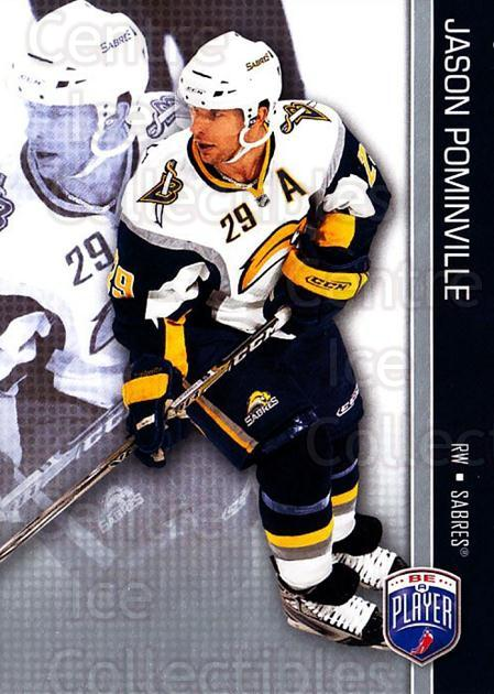 2008-09 Be A Player #22 Jason Pominville<br/>3 In Stock - $2.00 each - <a href=https://centericecollectibles.foxycart.com/cart?name=2008-09%20Be%20A%20Player%20%2322%20Jason%20Pominvill...&quantity_max=3&price=$2.00&code=514823 class=foxycart> Buy it now! </a>