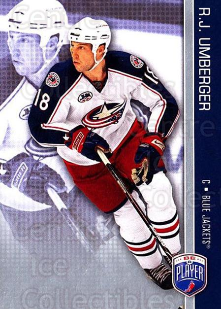 2008-09 Be A Player #53 RJ Umberger<br/>3 In Stock - $2.00 each - <a href=https://centericecollectibles.foxycart.com/cart?name=2008-09%20Be%20A%20Player%20%2353%20RJ%20Umberger...&quantity_max=3&price=$2.00&code=514854 class=foxycart> Buy it now! </a>
