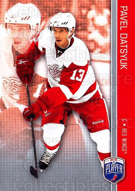 2008-09 Be A Player #62 Pavel Datsyuk<br/>3 In Stock - $2.00 each - <a href=https://centericecollectibles.foxycart.com/cart?name=2008-09%20Be%20A%20Player%20%2362%20Pavel%20Datsyuk...&quantity_max=3&price=$2.00&code=514863 class=foxycart> Buy it now! </a>
