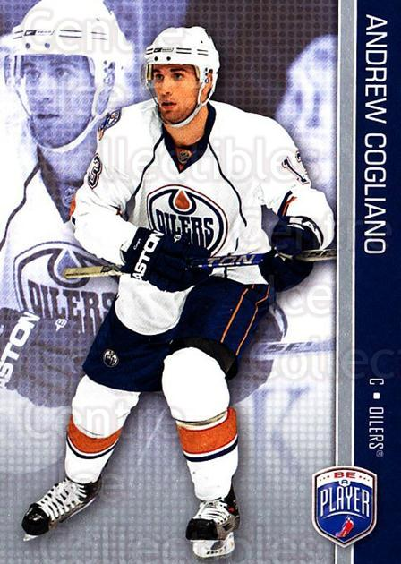 2008-09 Be A Player #72 Andrew Cogliano<br/>3 In Stock - $2.00 each - <a href=https://centericecollectibles.foxycart.com/cart?name=2008-09%20Be%20A%20Player%20%2372%20Andrew%20Cogliano...&quantity_max=3&price=$2.00&code=514873 class=foxycart> Buy it now! </a>