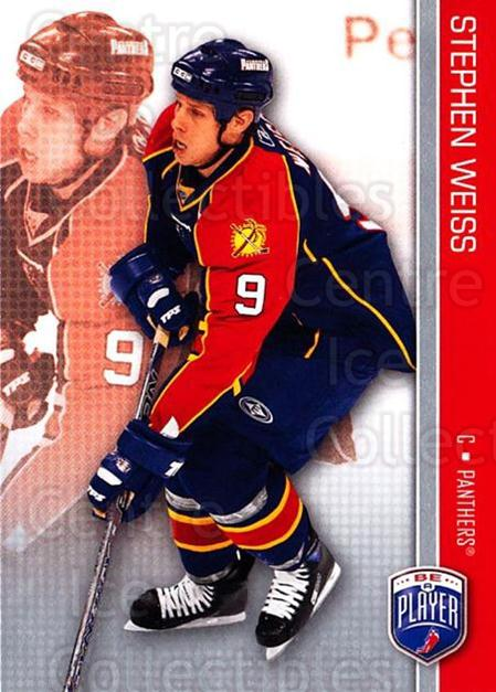 2008-09 Be A Player #75 Stephen Weiss<br/>3 In Stock - $2.00 each - <a href=https://centericecollectibles.foxycart.com/cart?name=2008-09%20Be%20A%20Player%20%2375%20Stephen%20Weiss...&quantity_max=3&price=$2.00&code=514876 class=foxycart> Buy it now! </a>