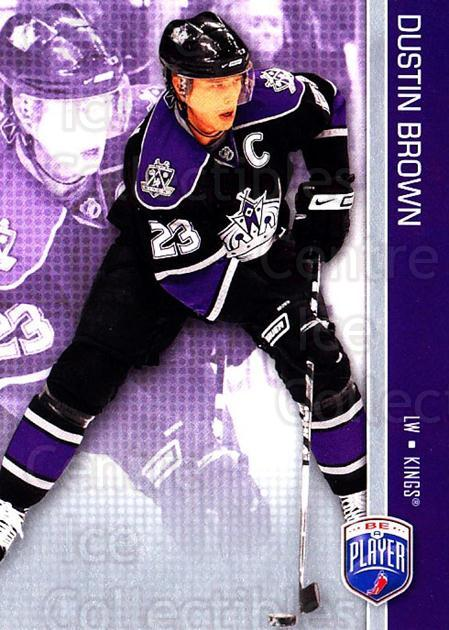 2008-09 Be A Player #81 Dustin Brown<br/>3 In Stock - $2.00 each - <a href=https://centericecollectibles.foxycart.com/cart?name=2008-09%20Be%20A%20Player%20%2381%20Dustin%20Brown...&quantity_max=3&price=$2.00&code=514882 class=foxycart> Buy it now! </a>