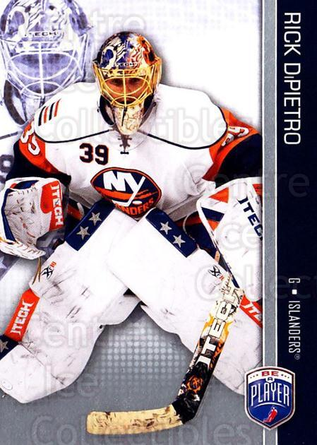 2008-09 Be A Player #114 Rick DiPietro<br/>3 In Stock - $2.00 each - <a href=https://centericecollectibles.foxycart.com/cart?name=2008-09%20Be%20A%20Player%20%23114%20Rick%20DiPietro...&quantity_max=3&price=$2.00&code=514915 class=foxycart> Buy it now! </a>