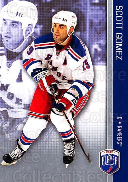 2008-09 Be A Player #116 Scott Gomez<br/>3 In Stock - $2.00 each - <a href=https://centericecollectibles.foxycart.com/cart?name=2008-09%20Be%20A%20Player%20%23116%20Scott%20Gomez...&quantity_max=3&price=$2.00&code=514917 class=foxycart> Buy it now! </a>