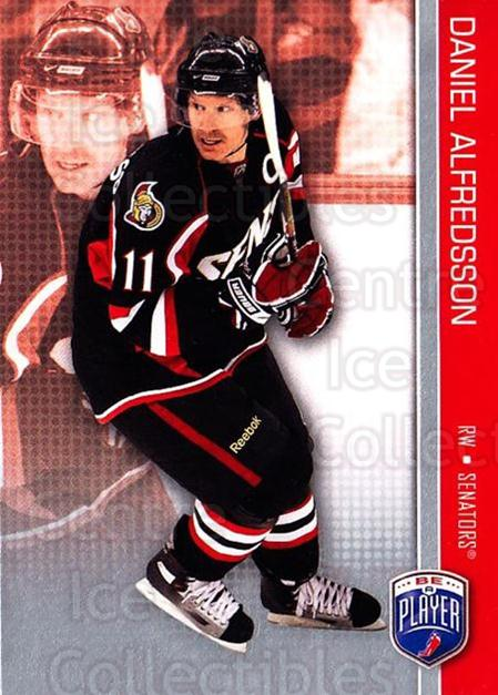 2008-09 Be A Player #123 Daniel Alfredsson<br/>3 In Stock - $2.00 each - <a href=https://centericecollectibles.foxycart.com/cart?name=2008-09%20Be%20A%20Player%20%23123%20Daniel%20Alfredss...&quantity_max=3&price=$2.00&code=514924 class=foxycart> Buy it now! </a>