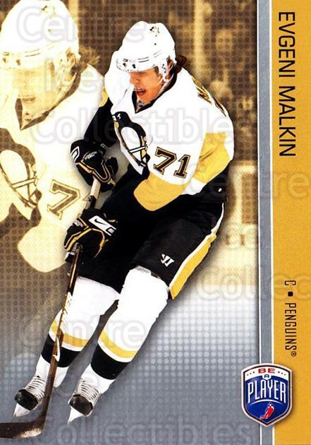 2008-09 Be A Player #142 Evgeni Malkin<br/>3 In Stock - $3.00 each - <a href=https://centericecollectibles.foxycart.com/cart?name=2008-09%20Be%20A%20Player%20%23142%20Evgeni%20Malkin...&quantity_max=3&price=$3.00&code=514943 class=foxycart> Buy it now! </a>