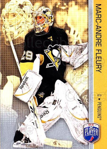 2008-09 Be A Player #145 Marc-Andre Fleury<br/>3 In Stock - $2.00 each - <a href=https://centericecollectibles.foxycart.com/cart?name=2008-09%20Be%20A%20Player%20%23145%20Marc-Andre%20Fleu...&quantity_max=3&price=$2.00&code=514946 class=foxycart> Buy it now! </a>