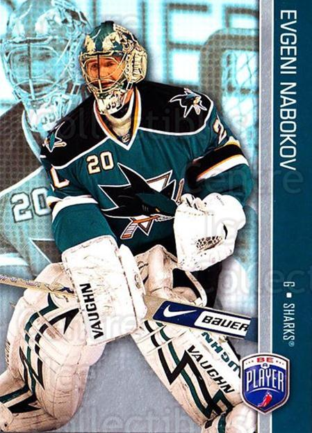 2008-09 Be A Player #153 Evgeni Nabokov<br/>3 In Stock - $2.00 each - <a href=https://centericecollectibles.foxycart.com/cart?name=2008-09%20Be%20A%20Player%20%23153%20Evgeni%20Nabokov...&quantity_max=3&price=$2.00&code=514954 class=foxycart> Buy it now! </a>