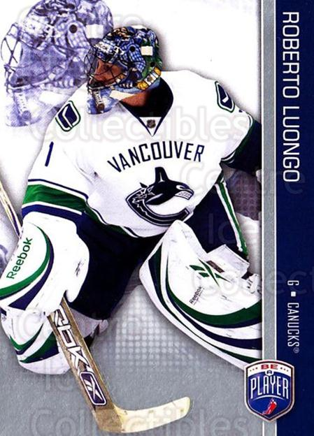 2008-09 Be A Player #175 Roberto Luongo<br/>3 In Stock - $2.00 each - <a href=https://centericecollectibles.foxycart.com/cart?name=2008-09%20Be%20A%20Player%20%23175%20Roberto%20Luongo...&quantity_max=3&price=$2.00&code=514976 class=foxycart> Buy it now! </a>