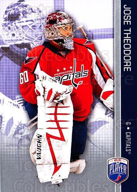 2008-09 Be A Player #180 Jose Theodore<br/>3 In Stock - $2.00 each - <a href=https://centericecollectibles.foxycart.com/cart?name=2008-09%20Be%20A%20Player%20%23180%20Jose%20Theodore...&quantity_max=3&price=$2.00&code=514981 class=foxycart> Buy it now! </a>